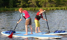 Stand Up Paddleboards at Itasca Sports